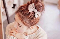 Ulzzang hair and bow