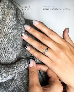 What Christmas manicure to choose for a festive mood - My Nails Love Nails, How To Do Nails, Fun Nails, Pretty Nails, Nail Manicure, Nail Polish, Acryl Nails, Minimalist Nails, Gel Nail Designs