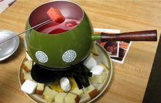 Fondue with Mini Meatballs