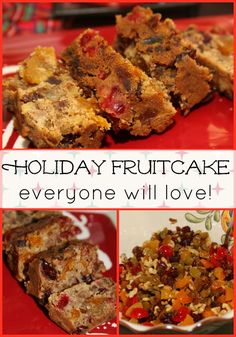Holiday Fruitcake Everyone Will Love - a family favorite Christmas recipe! Holiday Fruitcake Everyone Will Love - a family favorite Christmas recipe! Nutella, Seafood Recipes, Cooking Recipes, Copycat Recipes, Holiday Recipes, Christmas Recipes, Christmas Goodies, Christmas Candy, Christmas Desserts