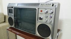NATIONAL TV RADIO TEYP BOOMBOX