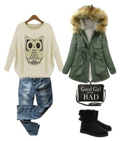 """""""casual.."""" by lea-vehabovic ❤ liked on Polyvore featuring мода, Levi's, UGG Australia и Torrid"""