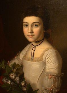 "Charles Wilson Peale ""Henrietta Maria Bordley"" 1773"