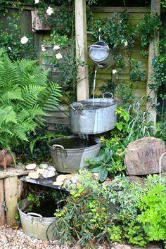 Brunnen Garten Selber Bauen Garten Gestaltung | Basteln | Pinterest | Selber  Bauen Garten, Brunnen Garten Und Steinbrunnen Garten