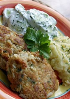 Pyszne kotlety z kalafiora Lunches And Dinners, Salmon Burgers, Mashed Potatoes, Beans, Food And Drink, Chicken, Cooking, Ethnic Recipes, Diet
