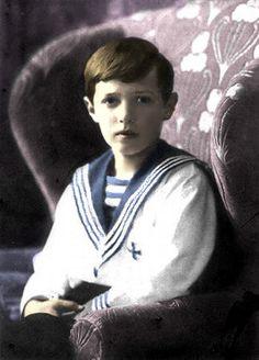 Alexei Romanov, colored by me