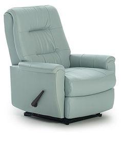 Petite modern recliner