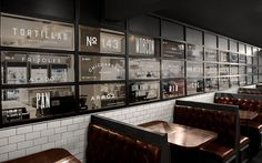 Restaurant branding for Mexican cantina, Botanero Moritas, by Anagrama. Founded…