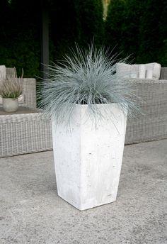 Concrete Planters, Garden Planters, Planter Pots, Concrete Candle Holders, Concrete Color, Grey And White, Flower Pots, Interior And Exterior, Vases