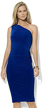 ShopStyle: Lauren by Ralph Lauren Dress One Shoulder Dress