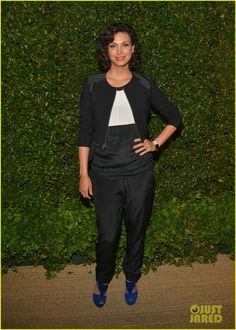 Morena Baccarin at Vogue and MAC Cosmetics dinner hosted by Lisa Love and John Demsey in honor of Prabal Gurung at the Chateau Marmont in Los Angeles, May Vogue Fashion, New York Fashion, Star Fashion, Teen Fashion, Runway Fashion, Fashion Tips, Fashion Trends, Fall Outfits, Casual Outfits