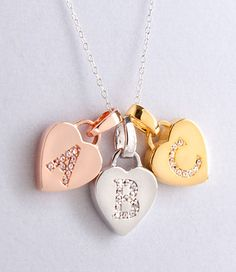 Kids' Sterling Silver Initial Necklaces
