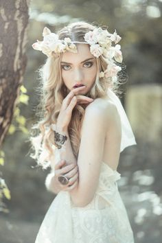 Flowers in her hair.....London Workshop by Emily  Soto on 500px