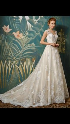 Browse beautiful Blue By Enzoani wedding dresses and find the perfect gown to suit your bridal style. Wedding Day Dresses, Wedding Dress Pictures, Lace Wedding Dress, Bridal Dresses, Lace Dress, Bridal Gown Styles, Wedding Styles, Blue By Enzoani, Art Atelier