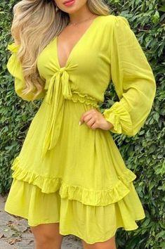 Tie Up Dress, Belted Dress, Ruffle Dress, Blazer Dress, Wrap Dress, Dresses For Sale, Dresses Online, Trend Fashion, Womens Fashion