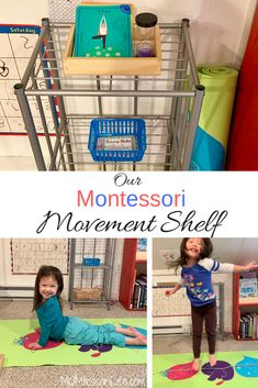 Our Montessori Movement Shelf
