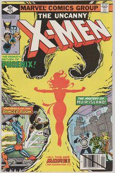 Uncanny X-Men V1 125.  NM. Sept 1979.  Marvel by RubbersuitStudios  #phoenix #xmen #comicbooks