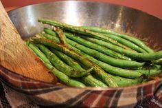 Honey Glazed Green Beans
