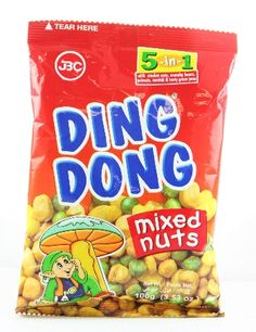 Find Jbc Ding Dong Mixed Nuts 3.5oz  we also carry a huge selection of Nuts and more products by JBC and other fine Filipino foods and Asian Groceries at our store in are online Filipino American Supermarket.