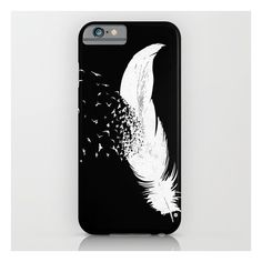 Birds Of A Feather (black) iPhone 6s Case ($35) ❤ liked on Polyvore featuring accessories, tech accessories, phone cases, phone, cases, electronics and iphone & ipod cases