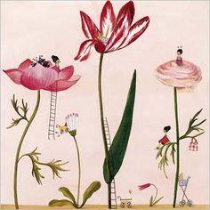 Friends in flowers Silke LEFFLER