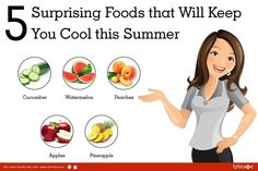 Don't let the summer hear get to you. Be sure to hog on these 5 foods that will keep you cool this summer! Find more amazing tips to beat the summer heat at Lybrate. #lybrate #health #healthy #stayfit #fitness #instafit #instafood #staycool #summer #watermelon by lybrate