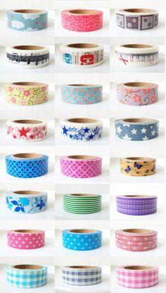 Más diseños de Washi Tape!