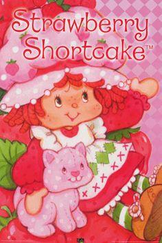 Strawberry Shortcake Cartoon, Sanrio, Buckwheat Cake, Ricotta Cake, Cartoon Posters, Cartoons, Art Posters, Zucchini Cake, Salty Cake