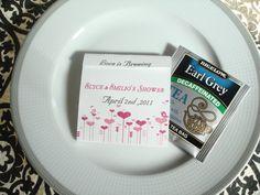 Love is Brewing Wedding/Shower Teabag Favor by wrappersdelites, $1.40