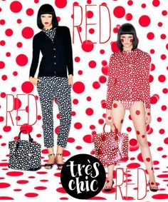 """""""Trés Chic Red..."""" by Donna Pfister. Made with #Bazaart - www.bazaart.me"""