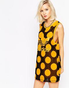 26e1144d7f573 Adidas Pharrell Dear Baes Tank Dress
