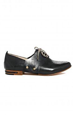 the perfect west village shoe? Frēda Salvador Black Frēda Change Loafer for Edition01
