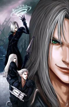 Final Fantasy VII #FFVII Advent Children