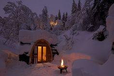 Honeymoon here we come!   Snow-lovers Eco Pod Hotel, Switzerland