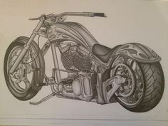 Triumph Motorcycle Drawings for Sale