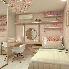 Room Ideas Bedroom, Girl Bedroom Designs, Small Room Bedroom, Home Bedroom, Bedroom Decor, Bedrooms, Cute Room Decor, Small Room Design, Aesthetic Room Decor