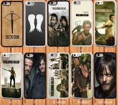 The Walking Dead for iPhone 6 6 Plus 4S 5/5S 5C Samsung S3 S4 S5 Note 2/3/4 Case