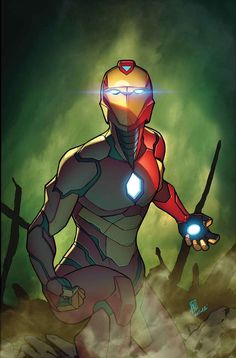 Iron Man Armor Model 51 (Riri Williams) by Stefano Caselli