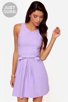 LULUS Exclusive Hot Off the Precious Lavender Dress