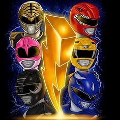 Mighty Morphin Power Rangers. #SonGokuKakarot