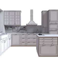 Ikea bodbyn 3D - TurboSquid 1195775 Bodbyn, 3d Max, Home Organization, Kitchen Cabinets, Architecture, House, Home Decor, Arquitetura, Decoration Home