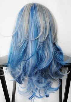 SALE // SILVER GALAXY wig from Miss Violet Lace on Etsy, $83.20