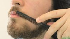 How to Trim a Mustache. The mustache is a classic look for men, but over time they can grow out and look unruly. If you want to control your mustache and keep it looking clean, all you need are a few basic grooming products. While a basic. Mustache Grooming, Mustache Wax, Moustache, How To Trim Mustache, Handlebar Mustache, Eyebrow Shaper, Mustache Styles, Side Hairstyles, How To Line Lips