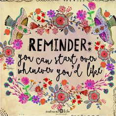 You don't need a new day to start over, you only need a new mindset ☺️☀️💗 Words Quotes, Wise Words, Art Quotes, Inspirational Quotes, Sayings, Happy Thoughts, Positive Thoughts, Positive Quotes, Natural Life Quotes