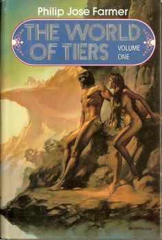 Philip Jose Farmer Book Covers | World of Tiers - Vol 1 - Philip Jose Farmer - cover by Boris Vallejo ...
