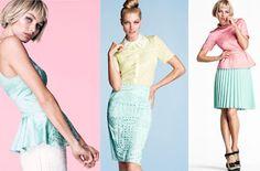 Petit Paris moda: colores pastel