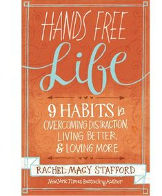 """This enlightening podcast with """"Hands Free Mama"""" is exactly what every mother needs. Join us for powerful reminders and strategies to overcome distraction, live better, and love more."""