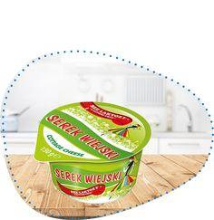 Serek wiejski bez laktozy 150 g | OSM Łowicz