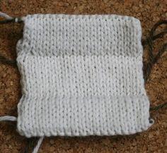 brilliant Matching Knitted Folded Hem Tutorial by Miriam Felton www.miriamfelton.com