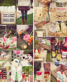 We love this outdoor movie/picnic themed hen party for a day event - perfect for all ages before the madness starts in the evening!